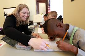 Teaching Deaf Blind Students Deaf Blind Students Have Class On Capitol Hill As Asks For