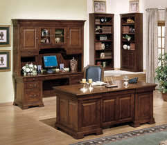 Executive Desk And Credenza Winners Only Furniture Manufacturer Home Office Bedroom And