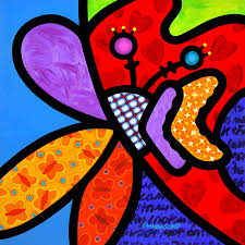britto garden britto paintings fine art america