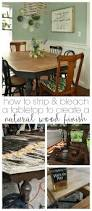natural wood dining room table refinished farmhouse dining table refresh living