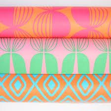 retro wrapping paper retro wrap paper netherlands orange pineapple retro