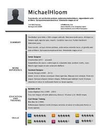 Resume Profile Template 49 Creative Resume Templates Unique Non Traditional Designs