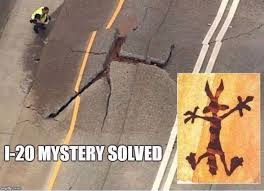 Wile E Coyote Meme - after i20 buckles the internet can t handle the way atlanta is