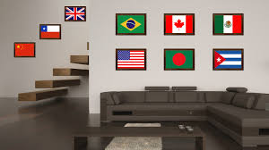 bangladesh country flag home decor office wall art collection