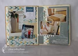 vacation photo album cyprus vacation scrapbook album creative scrapbooking
