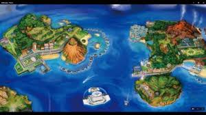 Map Of Pokemon World by Pokemon Sun Moon Alola Map Analysis Youtube
