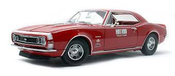 1967 camaro diecast 1967 camaro ss edelbrock rod magazine test car diecast model