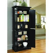 Kitchen Cabinet Furniture Black Food Pantries Kitchen Storage Furniture The Home Depot
