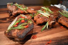 slow roasted asian country style pork ribs u0026 soy ginger green beans