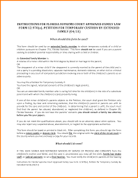 11 sample notarized letter for guardianship ledger paper