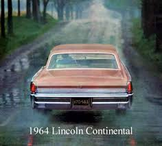 1964 Lincoln Continental Interior 1964 Lincoln Continental Contents Automotive Mileposts