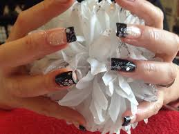 nail art black french manicure best nail 2017 black french tip