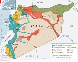 Islamic State Territory Map by Why Would He Stop Now