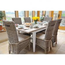 lulworth hand painted extending dining table rowico furniture