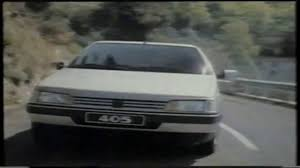 peugeot 405 wagon peugeot 405 spot 1988 youtube