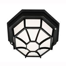 octagon ceiling light fixture bel air lighting web 1 light outdoor black ceiling fixture with