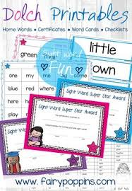 i use this powerpoint template to record the sight words that