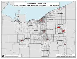 Map Of Northeast Ohio by Northeast Ohio Areas Of Economic Distress The Fund For Our