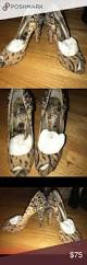 sam edelman spike leopard pumps size 9 leopard pumps peep toe