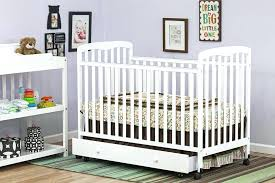 Mini Crib With Storage Mini Cribs With Storage Crib With Detachable Changing Table Home