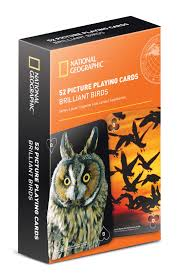 geographic 52 picture cards brilliant birds