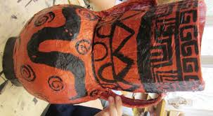 Greek Vase Images Papier Mache Greek Vases In Grade Seven Alejandra Chavez