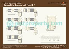 Palm Jumeirah Floor Plans by Anantara Residences Floor Plans Justproperty Com