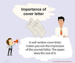 importance of cover letter pubmanu publication manual