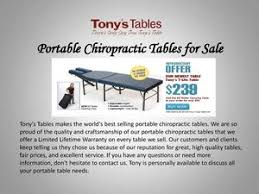 chiropractic tables for sale calaméo portable chiropractic tables for sale