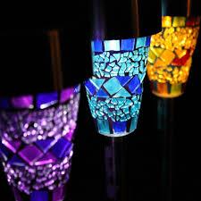 decorative outdoor solar lights reliable outdoor stake lights amazon com sogrand solar garden