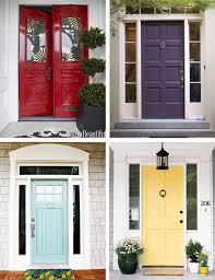 Exterior Door Paint Ideas 39 Front Door Colors Simple Sadef Info