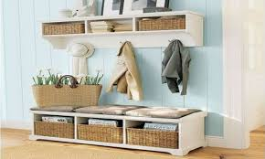 clever furniture entryway storage bench ideas small and narrow