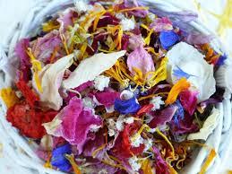 Real Flower Petal Confetti - best 25 biodegradable confetti ideas on pinterest wedding