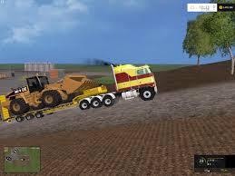 new kenworth cabover kenworth k100 cabover truck v1 farming simulator 2017 2015