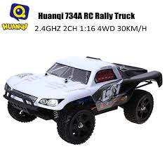 rally truck huanqi 734a 2 4ghz 1 16 4wd rc rally truck 75 09 online shopping