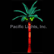 tiara coconut lighted palm tree pacific lights inc led lighted
