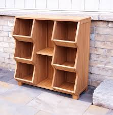 Kids Storage Bench Amazon Com Stackable Wooden Cubby Storage Unit Patio Lawn U0026 Garden