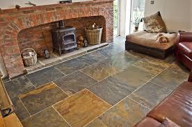 floor rustic tile flooring desigining home interior