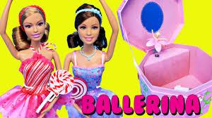 barbie ballerina diy jewelry box kids craft disney princess
