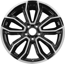 2013 mustang wheels and tires aly3909 ford mustang wheel black machined dr3z1007h