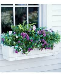 Metal Window Boxes For Plants - container gardening ideas for window planters