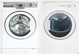 blomberg blwadrew1 side by side washer u0026 dryer set with front load