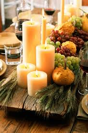 Home Interiors Candles Baked Apple Pie 38 Fall And Thanksgiving Centerpieces Diy Ideas For Fall Table