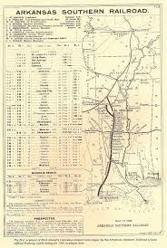 Parish Map Of Louisiana 1901 Map Of The Arkansas Southern Railroad Through Union Parish