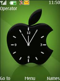 theme clock apple clock theme nokia theme mobile toones