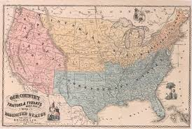 map of the a map of the disunited states as traitors and tyrants would