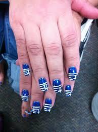 my greek flag nails in honor of moromou u0027s birthday memories