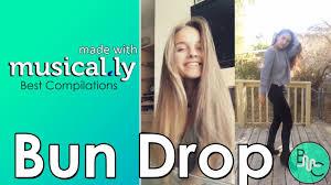 Challenge Drop Best Bun Drop Challenge Musical Ly Compilation
