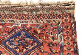 Oriental Rug Design Full Pile Antique South Persian Rug With Many Many Birds An