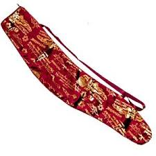 shofar bag jerusalem yemenite shofar bag large shofar burgundy ebay